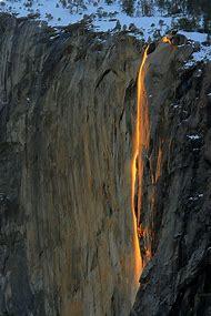 Fire Falls Yosemite National Park