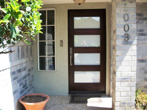 modern wood door gallery  front door company