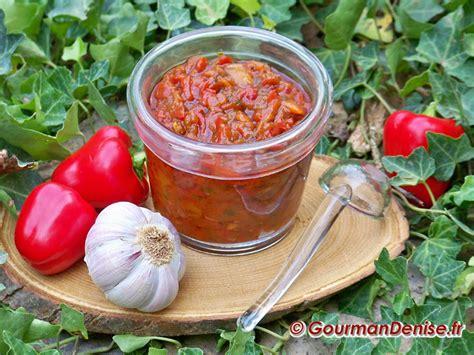 cuisiner ail confiture de poivrons à l ail de lautrec et au poivre