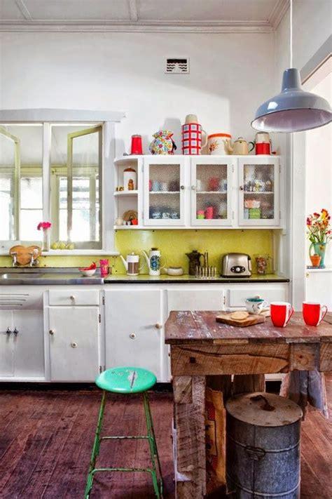 cuisines vintage déco cuisine le style rétro et vintage côté maison