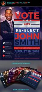 Free Campaign Poster Templates Vote Re Election Flyer Templates By Seraphimchris