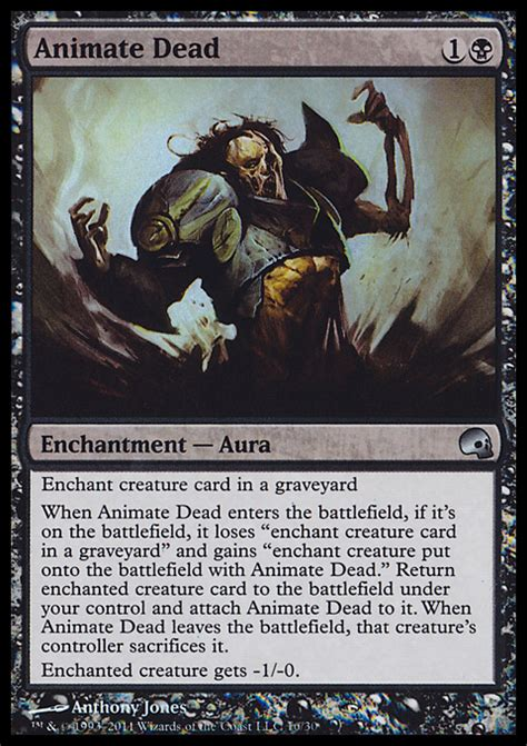 animate dead enchantment cards mtg salvation