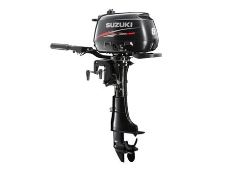Suzuki Outboards Reviews by Suzuki Df6 Portable Outboard Motor Review Trade Boats