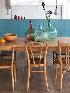 5 idees pour vous convaincre de depareiller vos chaises With chaises de salle À manger en cuir pour deco cuisine