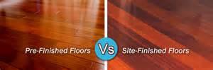 pre finished vs site finished hardwood floors