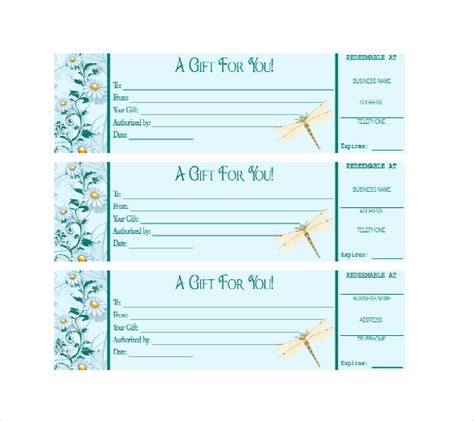 gift certificate template docs business gift certificate template 11 free word pdf documents free premium