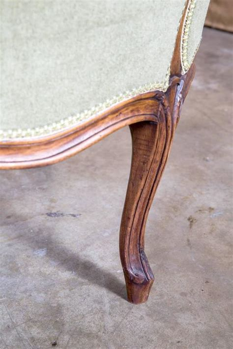 chaise cannee louis xv louis xv style chaise longue for sale at 1stdibs