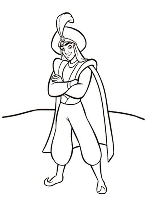 prince coloring pages    print