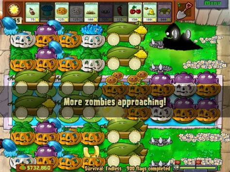 endless zombies plants vs flags survival last strategies 1000 busy else something week