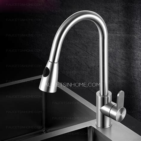high end stainless steel kitchen sinks high end pullout shower water stainless steel kitchen faucet 8381