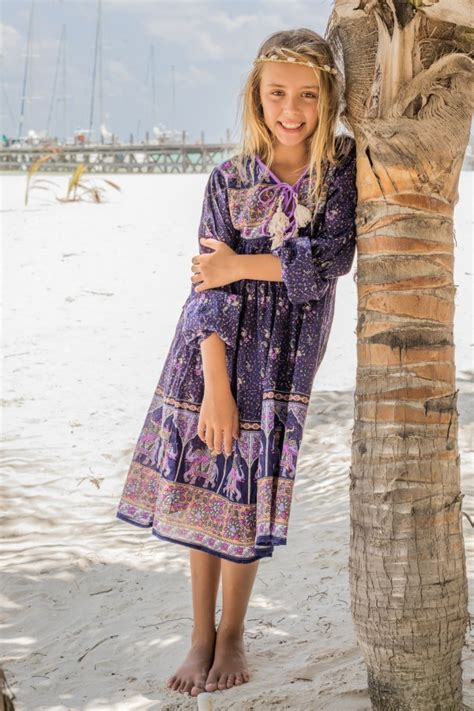 robe hippie chic el 233 phant robe hippie chic fille
