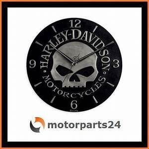 Harley Davidson Wanduhr : harley davidson skull sculpted wanduhr uhr 99366 10v ebay ~ Whattoseeinmadrid.com Haus und Dekorationen