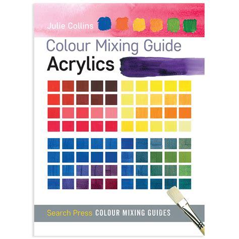 colour mixing guide acrylics ken bromley supplies
