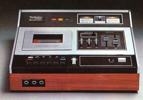 Technics Tape Deck  Tech  Pinterest  Decks And Tape