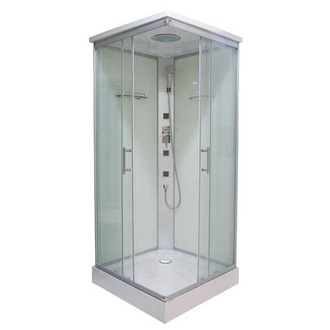 montaggio cabina doccia idromassaggio box doccia 80x80 o 90x90 con colonna idromassaggio con 3