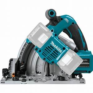 Makita Dsp600zj Twin 18v Lxt Cordless Plunge Saw 165mm