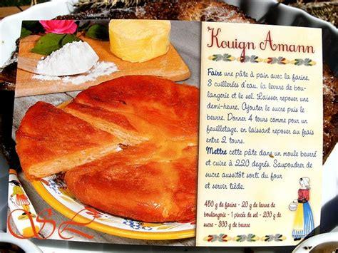 cuisine traditionnelle bretonne kouign amann saveurs lozériennes