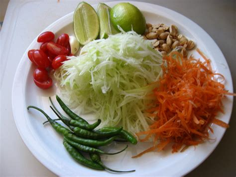 cuisine salade papaya salad explore food