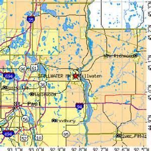 Stillwater MN On Minnesota Map