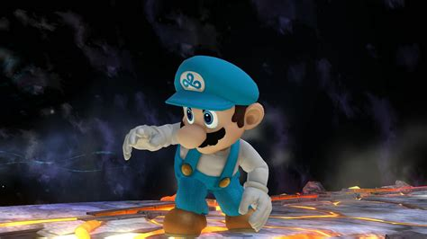 mario super smash bros wii  skin mods