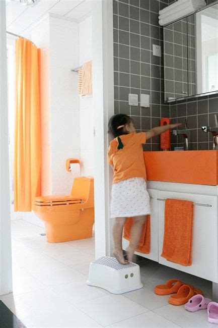 orange and gray bathroom ideas top 25 ideas about bathroom ideas on pinterest old master toilets and grey