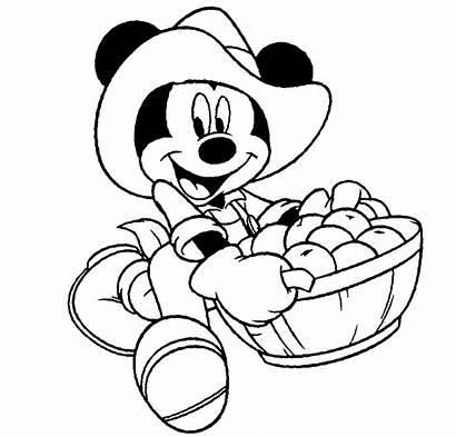 Mickey Mouse Drawing Cartoon Disney Coloring Colour