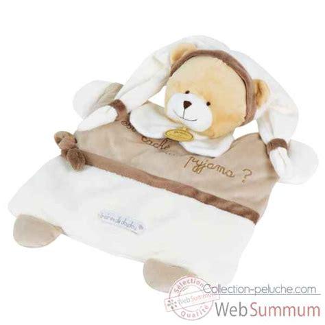 graines de doudou ours range pyjama doudou et compagnie dans doudou et compagnie