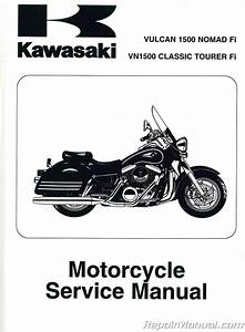 2000 Kawasaki Vulcan Nomad 1500 Owners Manual