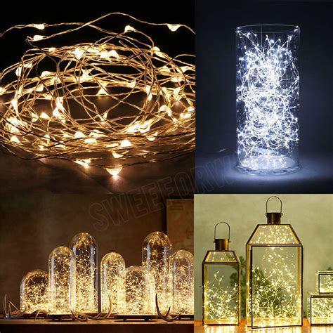led wire lights 20 30 40 50 100 led string copper wire lights