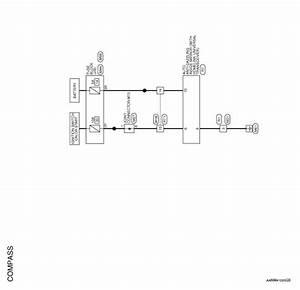 Nissan Rogue Service Manual  Compass - Wiring Diagram - Meter  Warning Lamp  U0026 Indicator