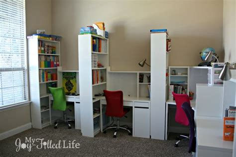 homeschool desk ideas ikea must haves for your homeschool room my filled