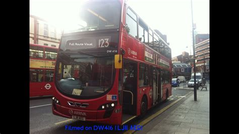 full route visual london bus route  ilford  wood