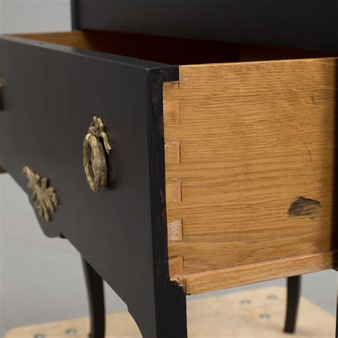Two Drawer Chest Of Drawers by A Late 20th Century Gustavian Style Painted Two Drawer