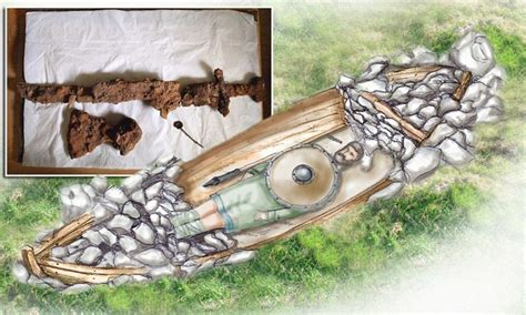 Viking Boats Found by Viking Chief Buried In His Boat Found In Scotland