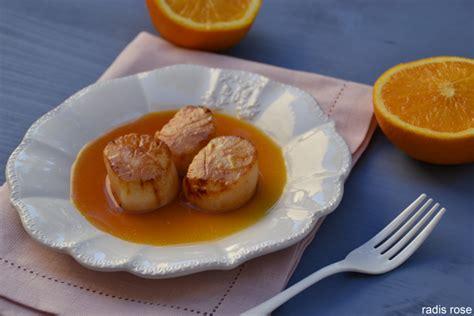 cuisiner jacques jacques sauce orange gingembre radis