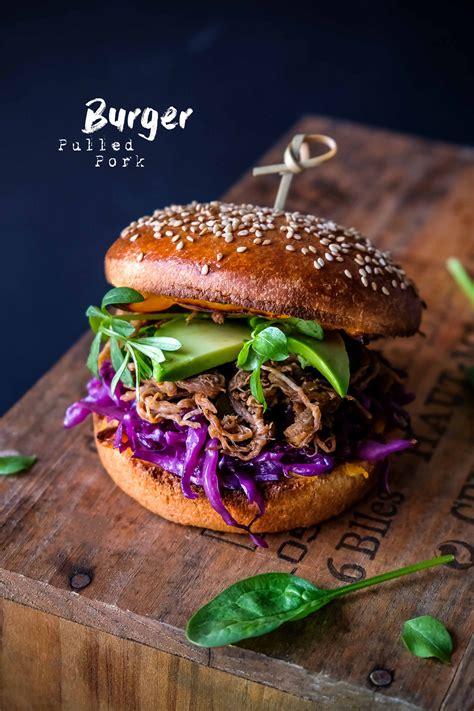 burger pulled pork porc effiloche epices malices