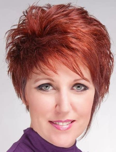 Short Hairstyles: Short Spikey Gold Haircut 2015
