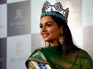 Salman Khan Has His Eyes On Miss World Manushi Chhillar
