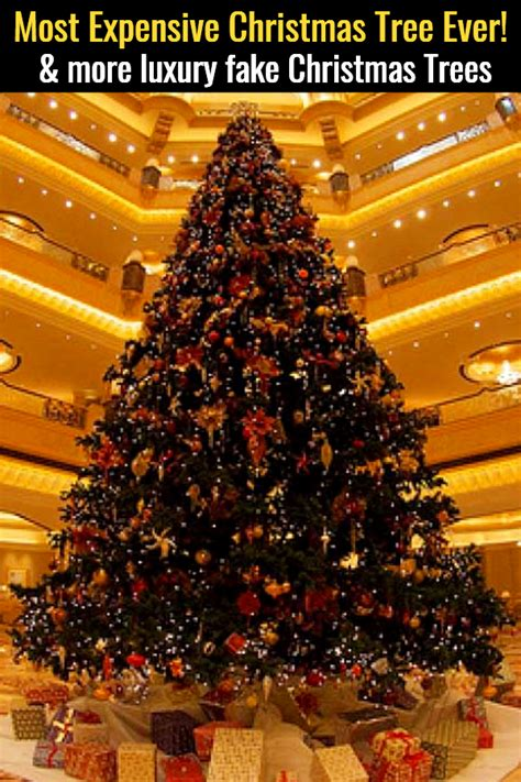 expensive christmas trees  luxury christmas