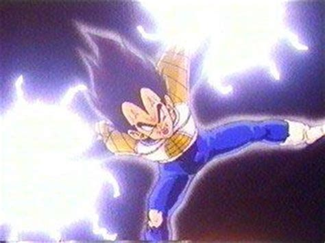 vegeta   final flash  recoome