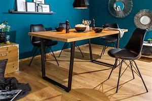Esstisch Industrial Design : design esstisch loft 160cm eiche mit kufengestell industrial style riess ~ Orissabook.com Haus und Dekorationen