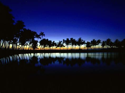 Beach At Night Wallpapers - Wallpaper Cave