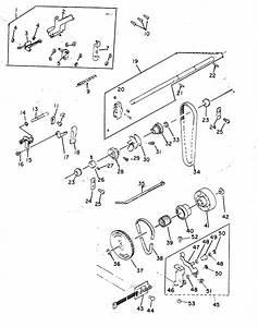 Main Shaft Idler Pulley Diagram  U0026 Parts List For Model