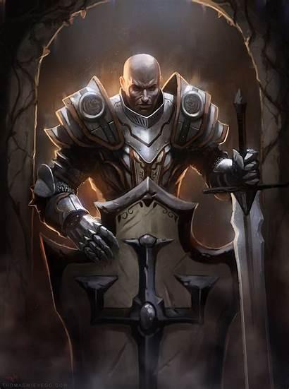 Crusader Paladin Diablo Deviantart Thomaswievegg Fantasy Male