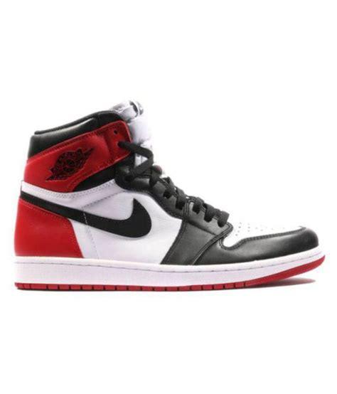 Nike Air Jordan 1 Retro Black Toe Multi Color Basketball