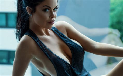 Wallpapers Jason Harynuk Big Tits Sexy Model Big Boobs