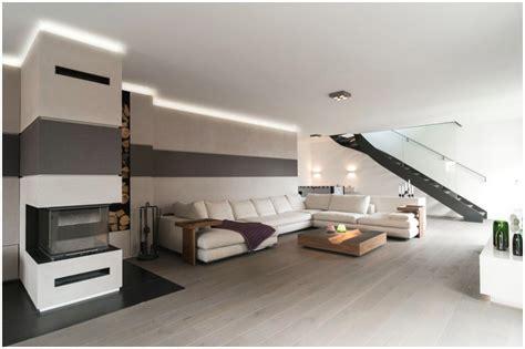 Indirekte Beleuchtung Wohnzimmer Wand Hauptdesign