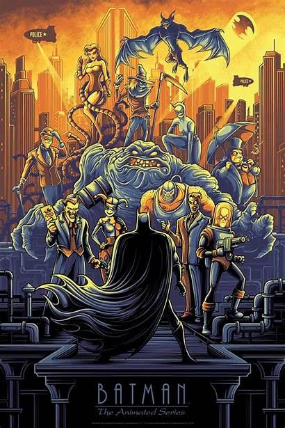 Mumford Dan Batman Animated Poster Artwork Timm