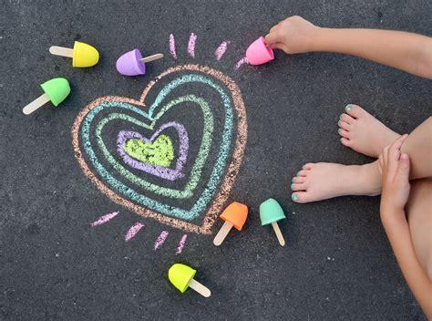 "Diy Sidewalk Chalk ""pops""  Project Nursery"