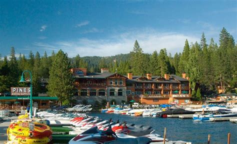 Bass Lake Boat Rentals by Yosemite Hotel Pictures The Pines Resort